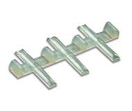 модель Horston 20215-1 Соединители-изоляторы для рельсовых участков. В комплекте 12 шт. Для рельс высотой 2,5мм (код 100).  Производство PECO, артикул по каталогу PECO SL-11. Новые, в упаковке.