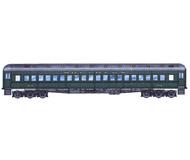 модель ZYX 20229-85 Модель-KIT для сборки стандартного пассажирского вагона США. Принадлежность SOUTHERN. Эти вагоны использовались с 1920-х годов как на дальних, так и на коротких дистанциях, в поездах дальнего следования и пригородных. Прототип модели производился несколькими компаниями - Pullman, ACF, Standard Steel и другими. Вагоны этой конструкции можно было встретить на многих железных дорогах от побережья до побережья США. Данная модель произведена американской фирмой BRANCHLINE, модели которой известны своим качеством и хорошей деталировкой, и предназначены в первую очередь серьезным коллекционерам. Серия BLUEPRINT. В комплект входит огромное количество накладных деталей, вплоть до отдельно устанавливаемых тормозных колодках и других мелочей. В настоящий момент модель снята с производства и является очень большой редкостью даже в США. Производство Branchline. Артикул по каталогу Branchline 5102. Новый, в коробке. Получен на реализацию из магазина моделей, на коробке имеется стикер с ценой. На фото - вверху фото из каталога, ниже - фотография продаваемой модели.
