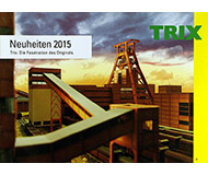 модель Horston 20260-100 Комиссионная модель. Каталог TRIX. Новинки 2015 года. Масштабы H0, N. 146 стр, на немецком языке.