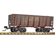 модель Horston 20303-17 Комиссионная модель. Четырехосный вагон для перевозки руды, с грузом угля. Искусственно состарен. Принадлежность UP (США). Пластиковые колесные пары. Сцепки типа Kadee. Производство Bachmann. Легкие следы пыли, легко убираются обычной антистатической щеткой. Фотография выполнена с продаваемой модели.