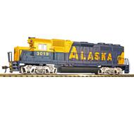 модель Horston 20306-17 Комиссионная модель. Тепловоз EMD GP40. Принадлежность Alaska Railroad #3019. Производство Bachmann, артикул 63510. Тепловоз нерабочий.