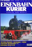 модель Железнодорожный Моделизм 9071-54 Комиссионная модель. Журнал Eisenbahn Kurier, сентябрь 1999г, на немецком языке. Фотография выполнена с продаваемого журнала.