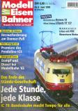 """модель Железнодорожный Моделизм 9078-54 Журнал """"Modell EisenBahner"""". Номер 6 / 1999, на немецком языке."""