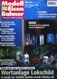 """модель Железнодорожный Моделизм 9079-54 Журнал """"Modell EisenBahner"""". Номер 8 / 1999, на немецком языке."""