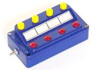 модель Железнодорожный Моделизм 9367-54 Комиссионная модель. Кнопочный пульт Marklin 7210. Может соединяться с аналогичными пультами, выстраиваясь в одну линию. Фотография выполнена с продаваемой модели.