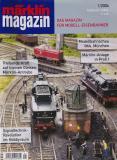модель Железнодорожный Моделизм 9448-54 Комиссионная модель. Журнал Marklin Magazin, №1 (февраль-март) 2004 г. 116 стр. Формат A4. Мягкая обложка. На немецком языке. Фотография выполнена с продаваемого журнала.