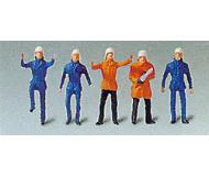 модель Vollmer 42216  Figures set Fire brigade men.