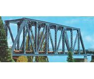 модель Vollmer 42546  Комплект для сборки стального моста с ездой понизу. Размер : длина 36. ширина 7.5. высота 11.2 см. Очень красивый мост с большим количеством мелких деталей. Для взрослых моделистов