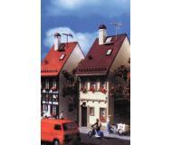 модель Vollmer 43670  Набор для сборки dwelling house Bahnhofstrasse 11. Размер  5.2 x 8.3 x 13.3 см.