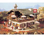 модель Vollmer 43706  Набор для сборки mountain inn. Размер  17.8 x 15 x 11.5 см.