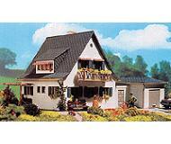 модель Vollmer 43718  Набор для сборки dwelling house. Размер  11.5 x 12 x 8.8 см. with garage. Размер  7.7 x 4.5 x 3.7 см.