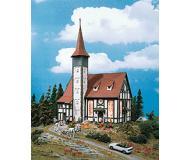 модель Vollmer 43768  Набор для сборки half-timbered church Altbach. Размер  19.5 x 14 x 30 см.