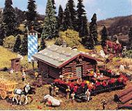 модель Vollmer 43796  Набор для сборки Kaiser-Franz-Josef hut. Размер  13.5 x 8.5 x 9.5 см.