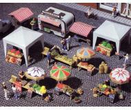 модель Vollmer 45141  Набор для сборки market place accessories.