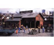 модель Vollmer 45615  Набор для сборки coal store. Размер  19 x 14 x 10 см.