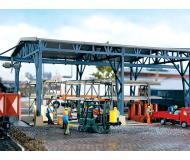 модель Vollmer 45616 Steel Storage Depot. Размер 32 x 17.5 x 10.3см.