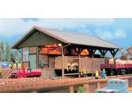 модель Vollmer 45700  Набор для сборки goods shed. Размер  22 x 15.8 x 10.5 см.