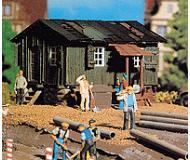 модель Vollmer 45728  Набор для сборки construction worker`s hut. Размер  9 x 7 x 4.5 см.