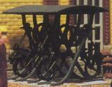 модель Vollmer 45742 Небольшая стоянка с навесом для велосипедов