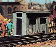 модель Vollmer 45743  Набор для сборки corugated steel hut. Размер  5.2 x 2.8 x 3.3 см.