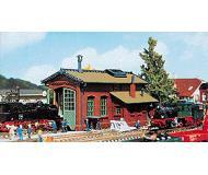 модель Vollmer 47607  Набор для сборки 1-stall locomotive shed. Размер  13 x 8.7 x 7.6 см.