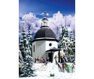 модель Vollmer 49412 Silent Night Memorial Chapel - Набор для сборки. Размер  3.6 x 5 x 7.9см.